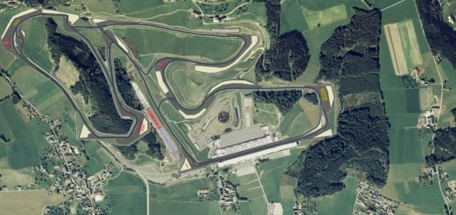 Luftansicht Red Bull Ring